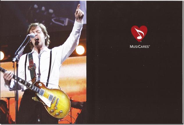 Paul McCartney - Tribute - Inlay