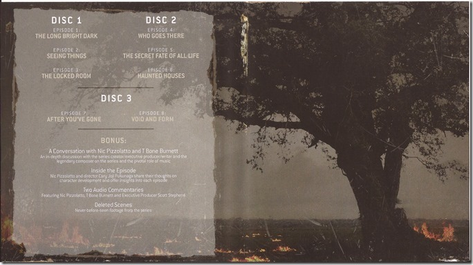 True Detective - Seizoen 1 - Inlay