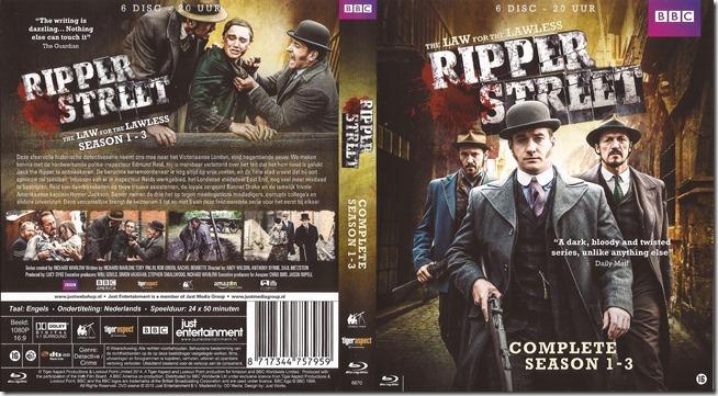 Ripper Street - Season 1-3