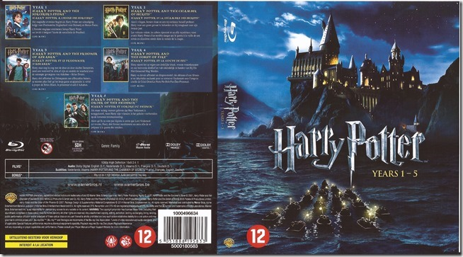 Harry Potter 1 - 5