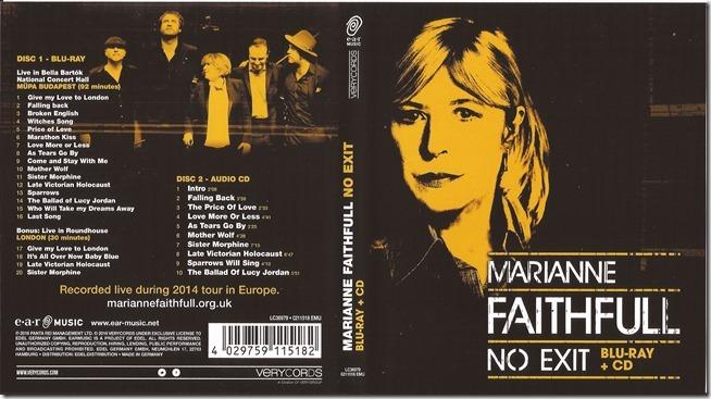 Marianne Faithfull - No Exit