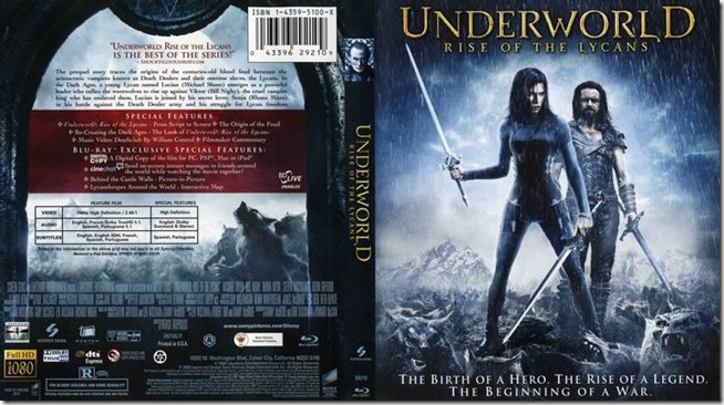 Underworld III - Rise Of The Lycans