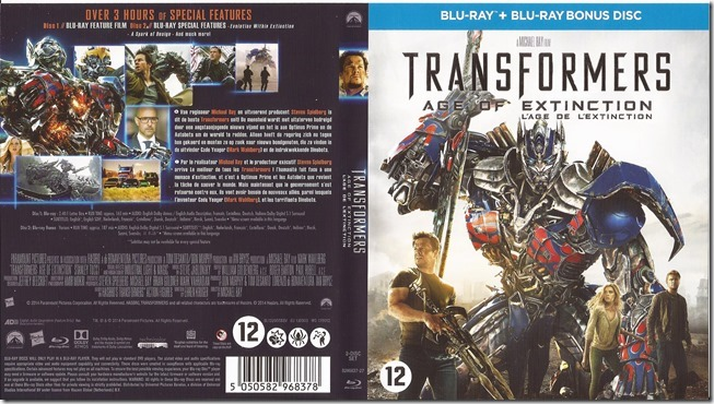 Transformers 4 - Age Of Extinction