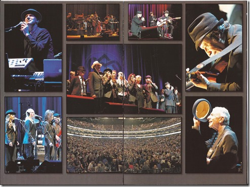 Leonard Cohen - Live In London - Inlay 2