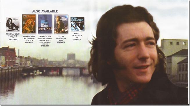 Rory Gallagher - Irish Tour 1974 - Inside