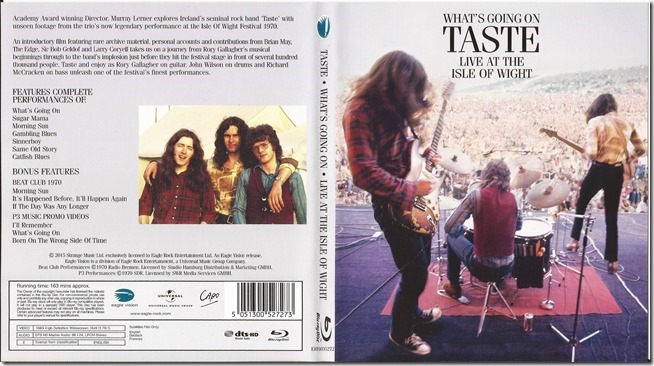 Taste - Whats Going On - Live At The Isle Of Wight