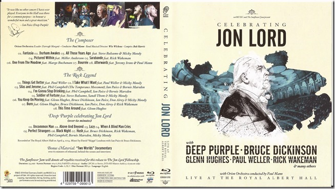 Various Artists - Celebrating Jon Lord