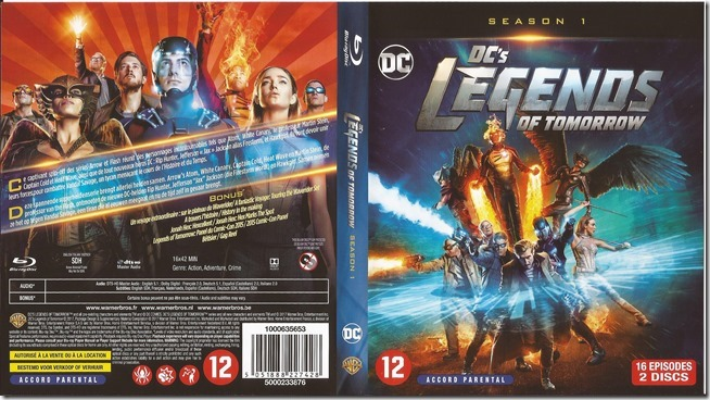 DC's Legends Of Tomorrow - S1