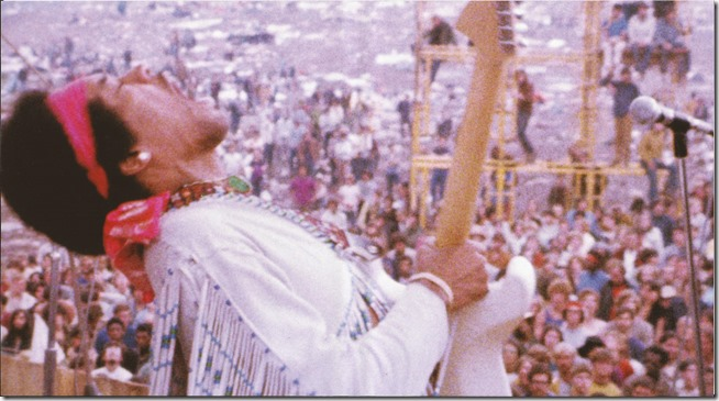 Jimi Hendrix - Live At Woodstock - Inside