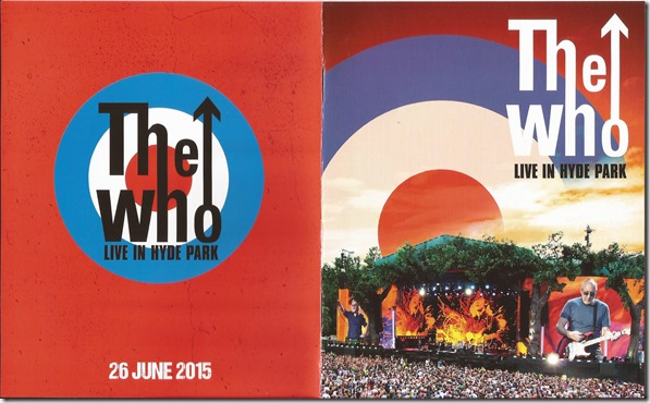 Who - Live In Hyde Park - B1