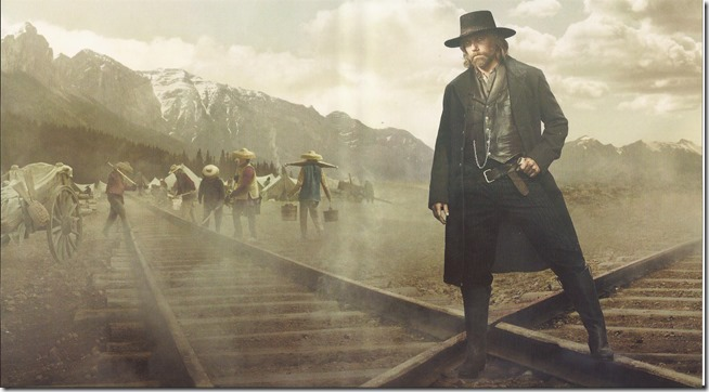 Hell On Wheels - S5 - D1 - Inlay