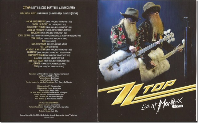 ZZ Top - Live At Montreux 2013 - B1