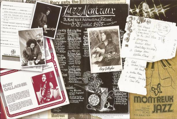 Rory Gallagher - The Definitive Montreux Collection - Inlay