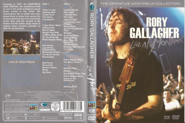 Rory Gallagher - The Definitive Montreux Collection