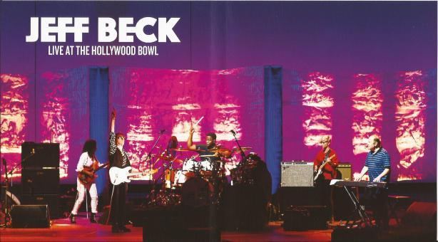 jeff beck - live at the hollywood bowl - inlay