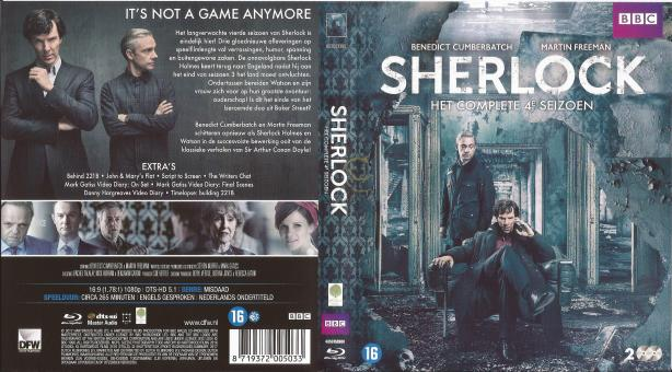 Sherlock - Seizoen 4