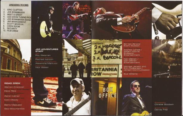Joe Bonamassa - Live From The Royal Albert Hall - B4