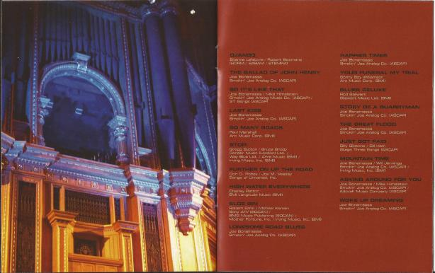 Joe Bonamassa - Live From The Royal Albert Hall - B5