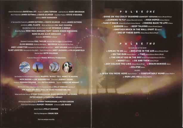 Pink Floyd - Pulse - B2