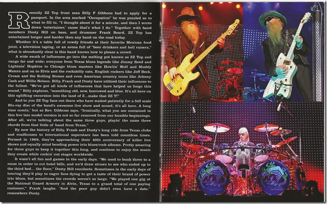 ZZ Top - Live From Texas - B1