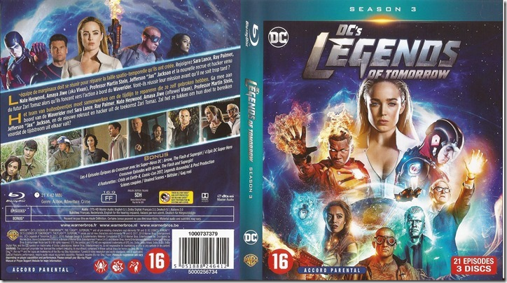 DC's Legends Of Tomorrow - S3