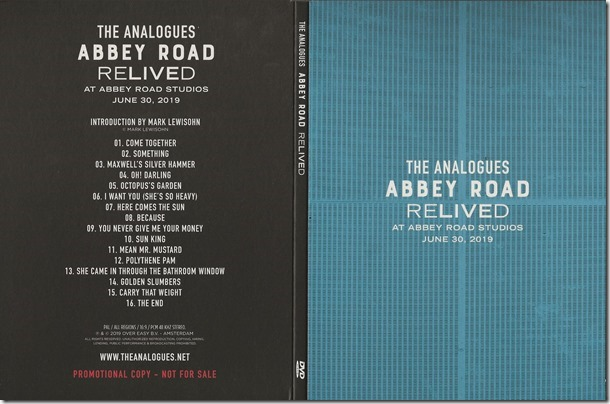 Analogues - Abbey Road Relived