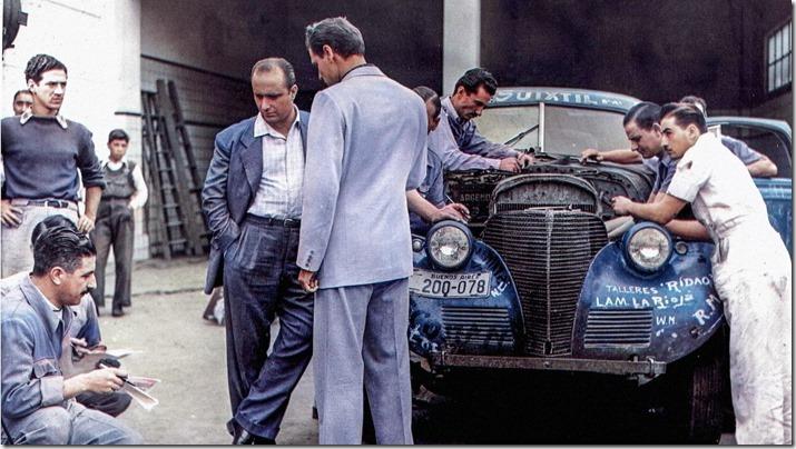 Fangio, el hombre que domaba las máquinas (1)