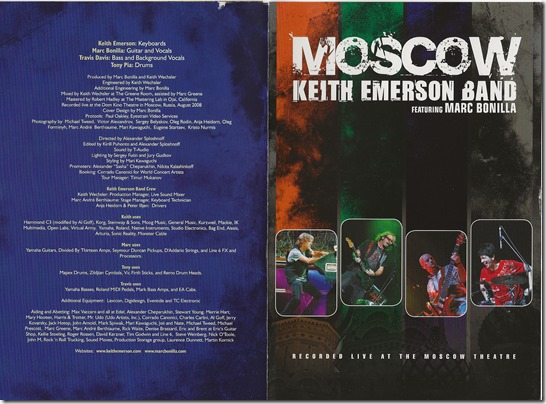 Keith Emerson Band - Moscow - B01