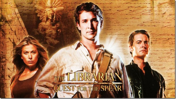 Librarian Quest for the Spear (1)