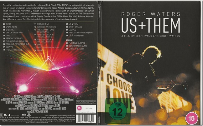 Roger Waters - Us   Them